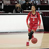 Georgia Lady Bulldogs guard Gabby Connally (2) moves downcourt at Colonial Life Arena on Thursday, January 21, 2021.