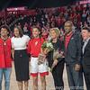 Mackenzie Engram and family with Joni Taylor and Greg McGarity– Senior Day – Georgia vs. Florida – February 25, 2018