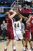 Jayne Appel wins the rebound