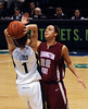 Oregon's Taylor Lilley keeps WSU's Jasmine Williams from the ball
