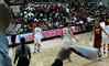 Stanford fans celebrate as Candice Wiggins sets a new scoring record