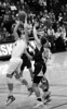 Stanford's Kayla Pederson gets the rebound