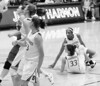 Stanford's Jillian Harmon scores, then goes on defense