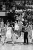 Stanford's Nnemkadi Ogwumike and Tennessee's Glory Johnson reach for the ball