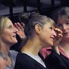 Christy Hedgpeth, Anita Kaplan and Chris MacMurdo of the 1992 Championship Team