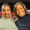 Furman coach Jackie Carson and Joni Taylor