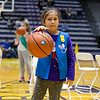 This Girl Scout has conquered dribbling.