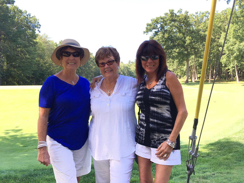 From left, Pat Dearborn of Nashua, and Jean Day and Sharon Kydd of Chelmsford