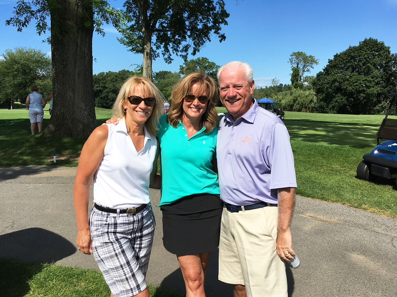 From left, Cheryl Ward of Groton, with Colleen and John Cox of Tyngsboro