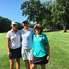 From left, golfers Cheryl Popp of Westford, and Kristin Rydzewski and Linda Hill, both of Chelmsford