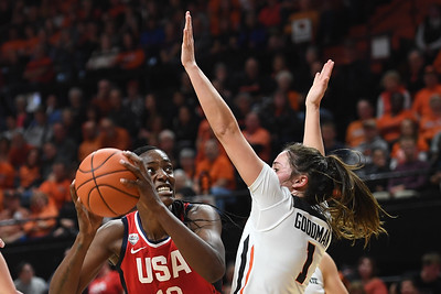 OSU vs  Team USA Womens Basketball 110419 Leon Neuschwander1389