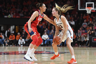 OSU vs  Team USA Womens Basketball 110419 Leon Neuschwander1378