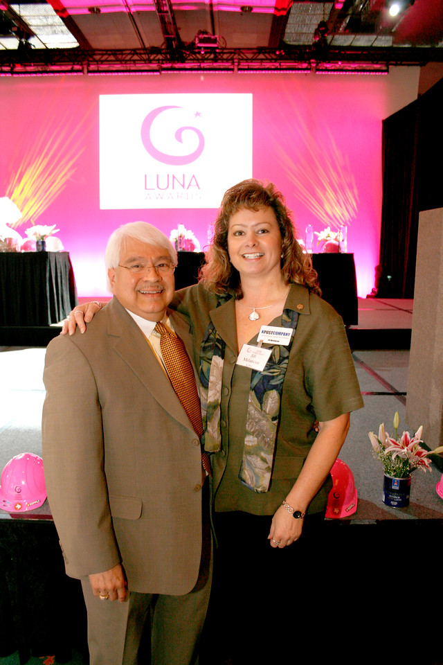 Eddie Reyes, UNT and Jill Melancon, K Post Company