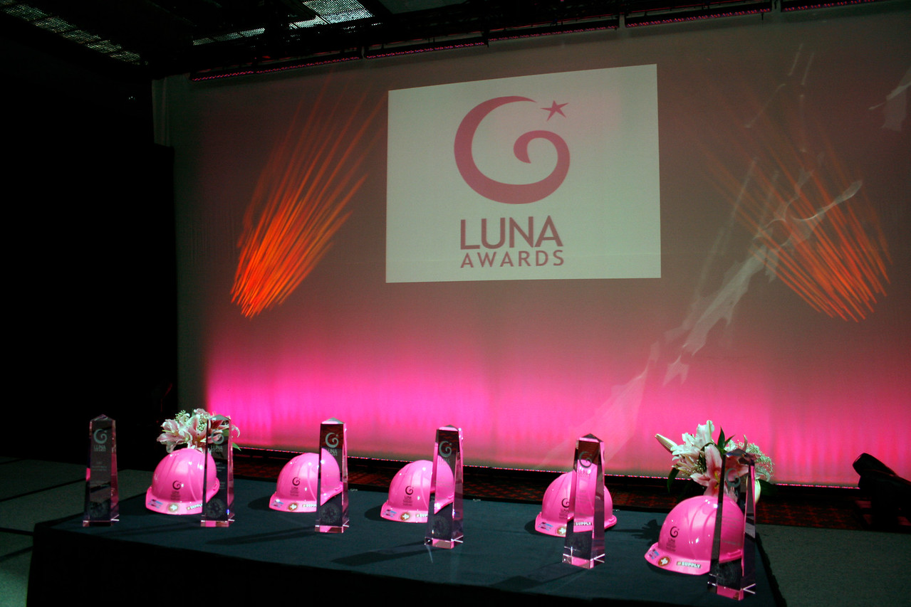 The cyrstal Luna Awards