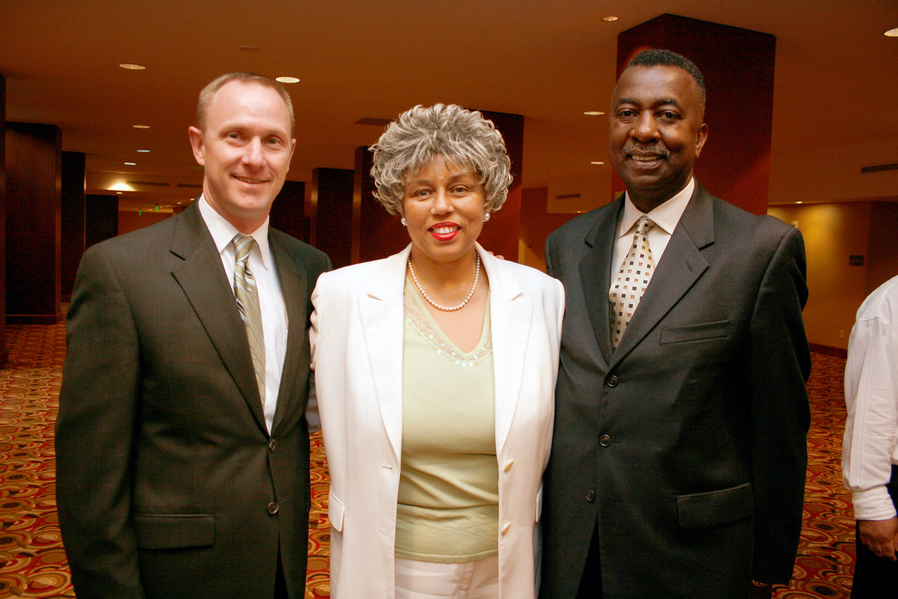 Mark Dubner, City of Dallas; Margo J. Posey, DFW MBC; and James Earl Estes, SSP Consulting