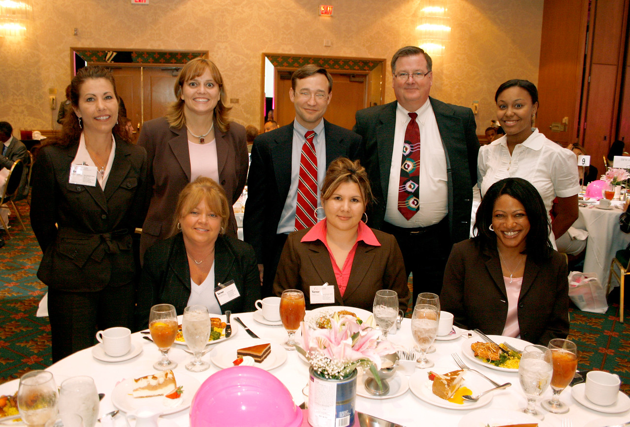 The Turner Team with Conference Committee Member Charlotte Thompson, Bank of America