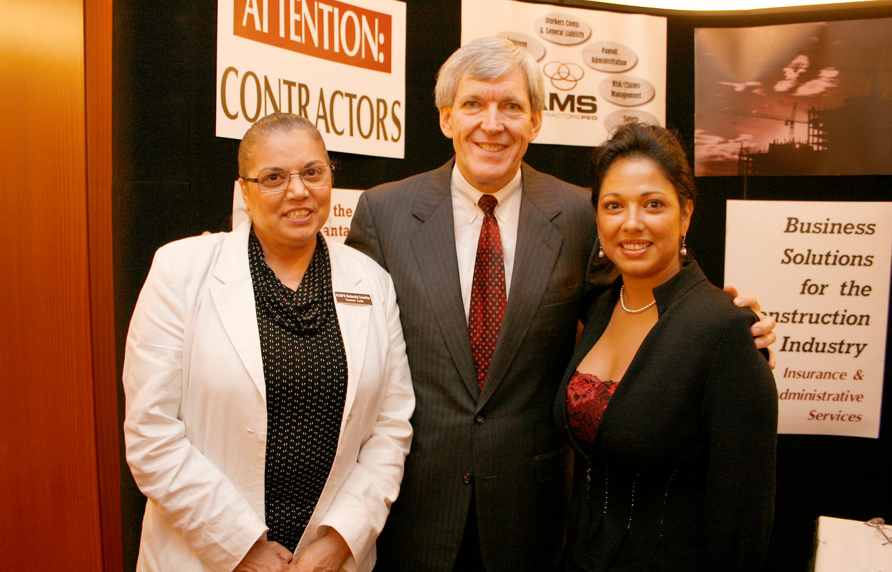 DISD Tommie Lyle; Mayor Tom Leppert and Marie Diaz, Pursuit of Excellence