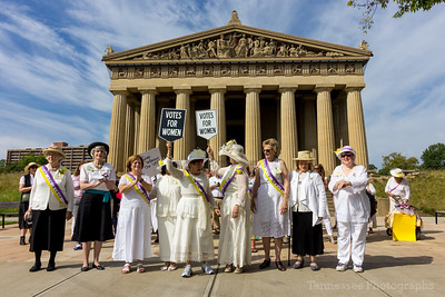Women's Equality Day Celebration at Centennial Park, Nashville 8/26/17