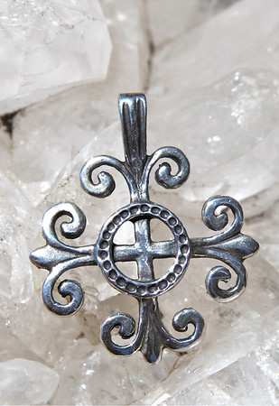 Silver cross, France