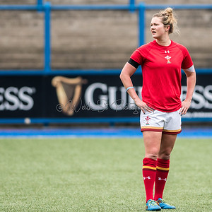 Wales Women v Ireland Women at Cardiff Arms Park, Womens RBS 6 Nations, Saturday 11 March 2017