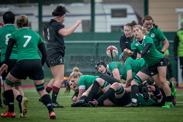 Wales v Ireland at CCB Centre for Sporting Excellence, Six Nations Warm Up, Sunday 21 January 2018