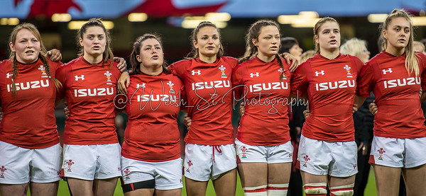 Wales v Italy at Principality Stadium, Womens Six Nations Championship, Sunday 11 March 2018