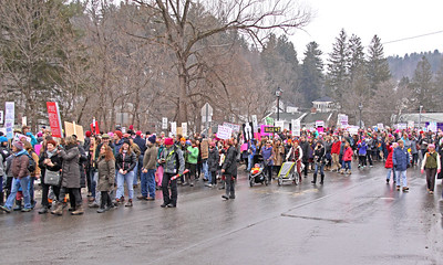 Womens March 2017 over the bridge 2 IMG_1940