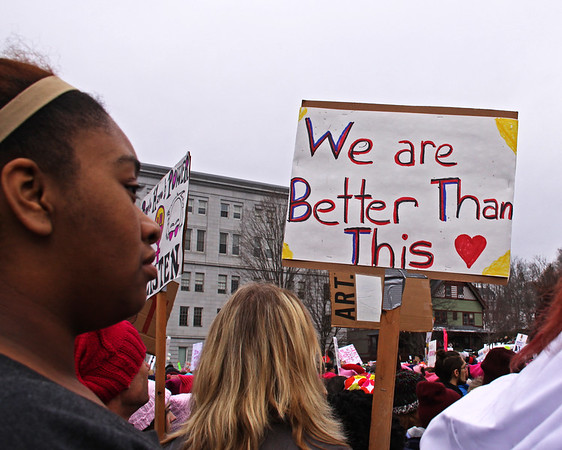 Womens March 2017 we are better IMG_2005