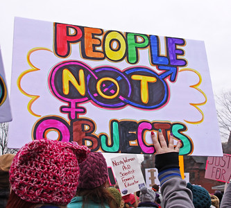 Womens March 2017 people not objects IMG_1979