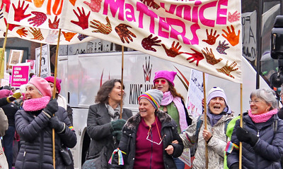 Womens March 2017 every voice matters close up IMG_1934