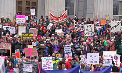 Womens March 2017 state house podium IMG_1999