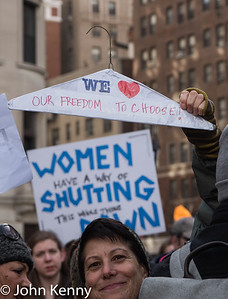 NYC Women's March 1/20/18