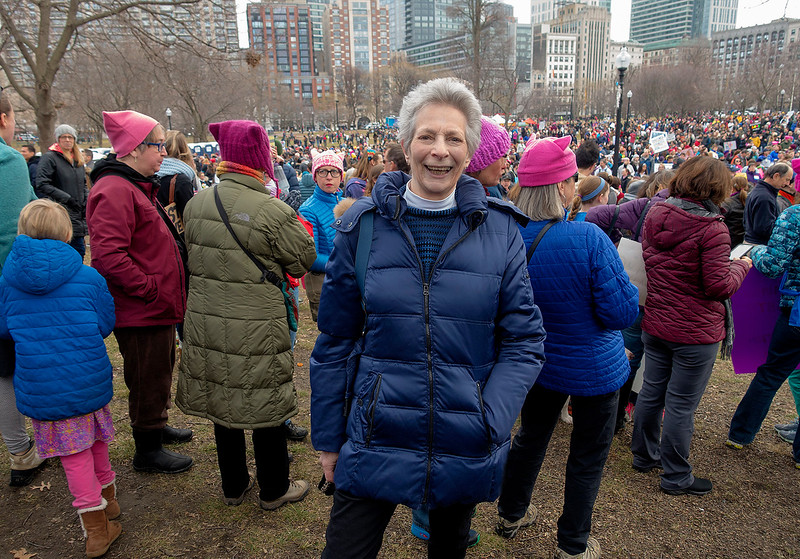 Women's March, Boston, 2017, photo credit Ann Carol Grossman