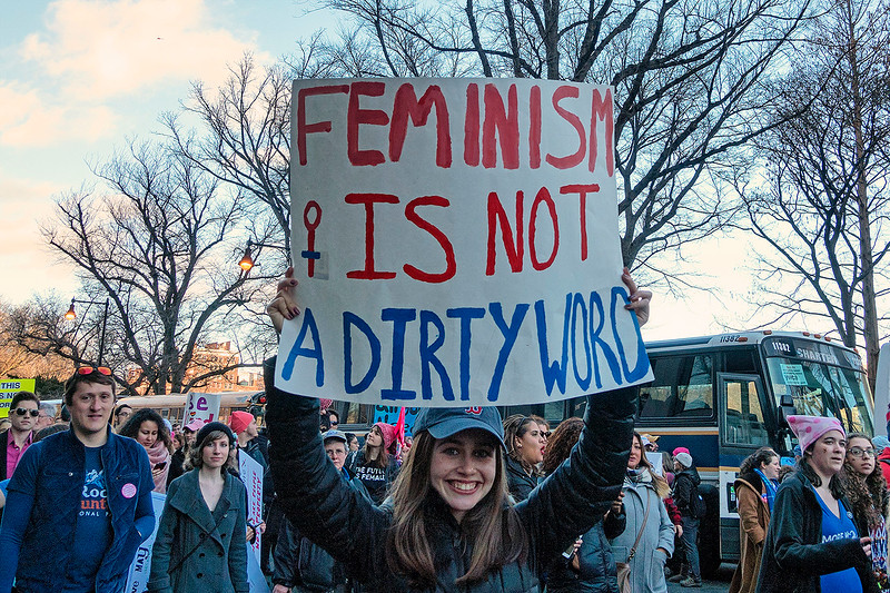Women's March, Boston, 2017 <br /> Photo (c) Liane Brandon