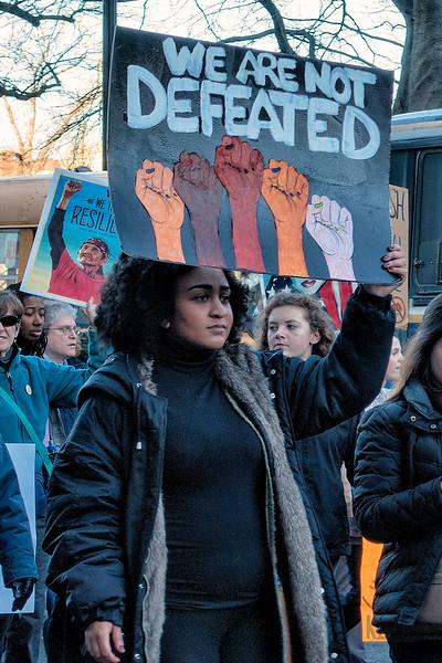 Women's March, Boston, 2017 <br /> Photo (c) Liane Brandon