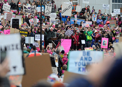 Womens March Montpelier - January 21, 2016