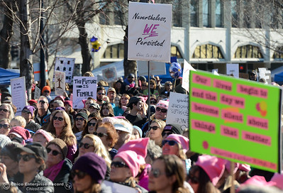 Women's March on Chico 2018