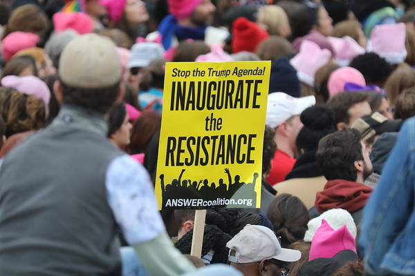 Women's March on Washington and Counter Innaugural Events J18-22 2017