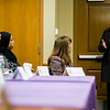 Senator Jennifer Flanagan speaks to the Massachusetts Commission on the Status of Women during an open forum at the Leominster Public Library on Tuesday afternoon. SENTINEL & ENTERPRISE / Ashley Green