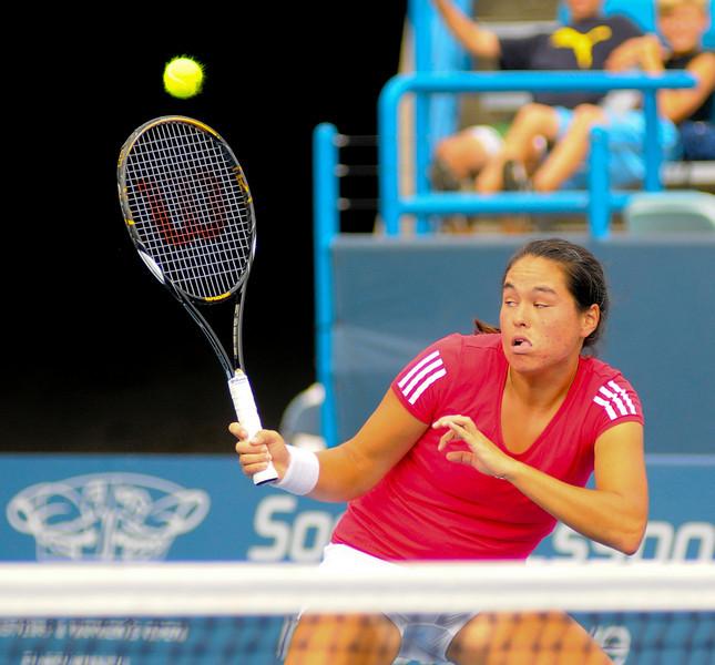 Jamie Hampton.Western & Southern Financial Group Women's Open.(CincySportsZone/Scott Davis)