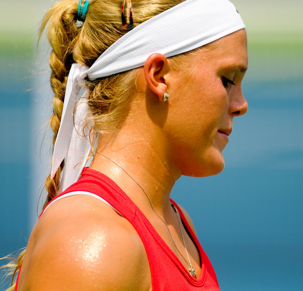 Melanie Oudin (USA) Western & Southern Financial Group Women's Open.(CincySportsZone/Scott Davis)