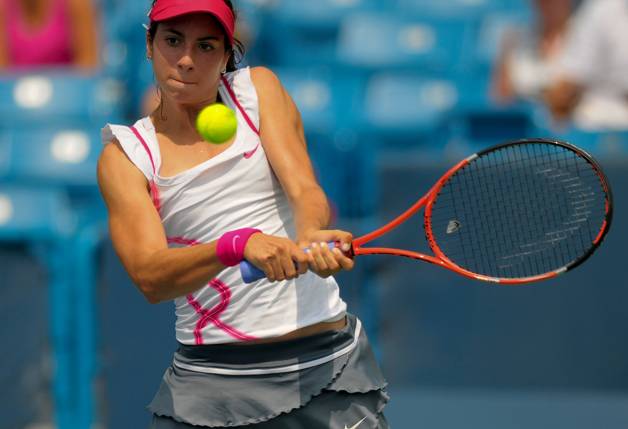 Christina Mchale (USA) .Western & Southern Financial Group Women's Open.(CincySportsZone/Scott Davis)