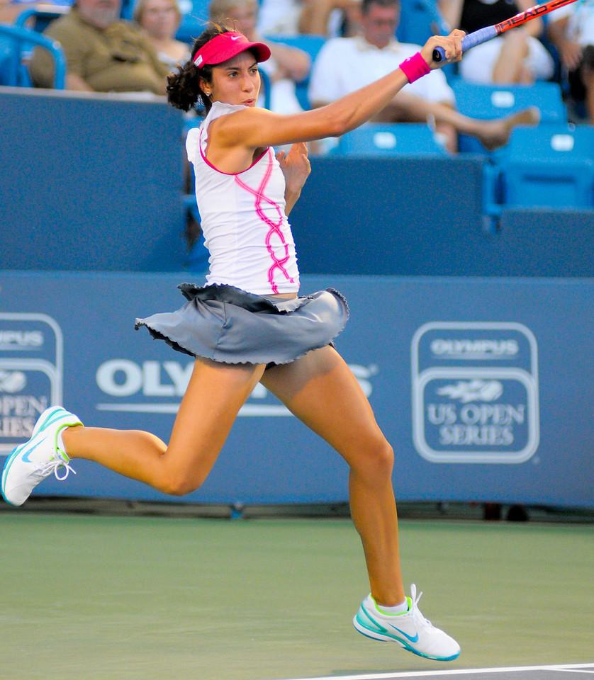 Christina Mchale (USA) Western & Southern Financial Group Women's Open.(CincySportsZone/Scott Davis)
