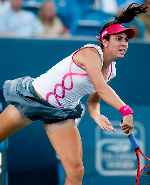 Christina Mchale (USA) Western & Southern Financial Group Women's Open.(CincySportsZone/Scott Davis)