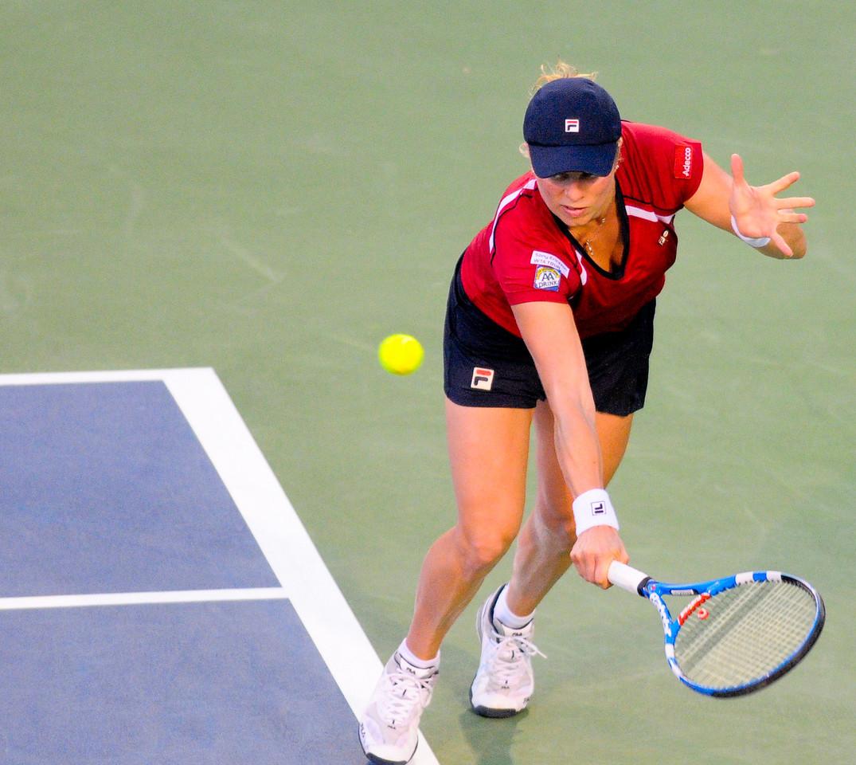 (4) Kim Clijsters (BEL) Western & Southern Financial Group Women's Open.(CincySportsZone/Scott Davis)