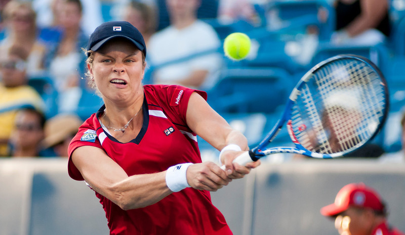 (4) Kim Clijsters (BEL) Western & Southern Financial Group Women's Open.(CincySportsZone/Scott Davis)
