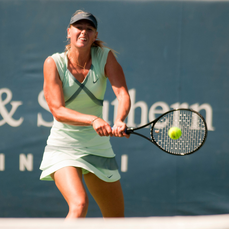 (10) Maria Sharapova.Western & Southern Financial Group Women's Open.(CincySportsZone/Scott Davis)