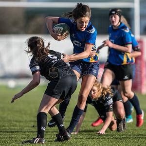 Women's Regional Rugby, Ospreys Ladies U18's v Dragons Ladies U18's on Sunday November 26 2017 at St Helens, Swansea, South Wales. Photographer : Simon Latham