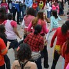 Dancers performing at the 1 Billion Rising rally in Denver.