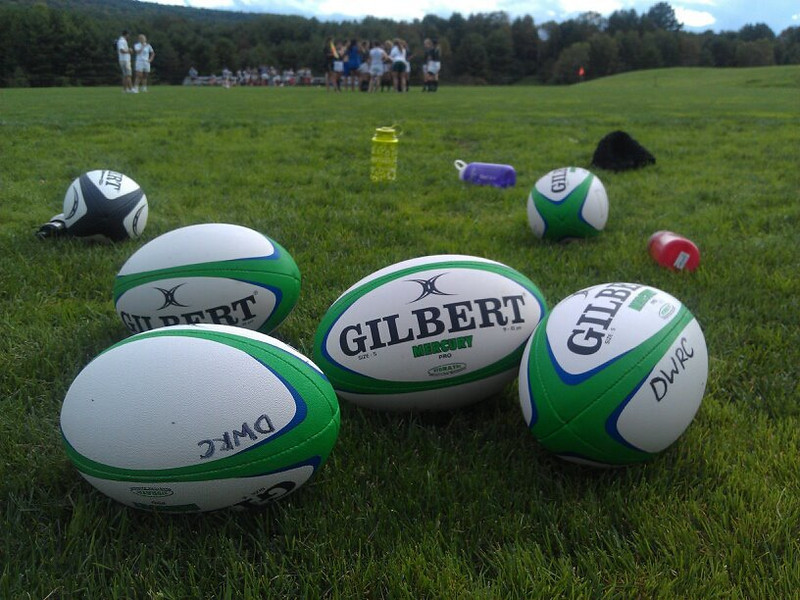 Rugby Balls, Brophy Field, Dartmouth College